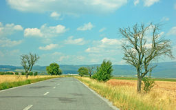 drogowy lato Fotografia Stock
