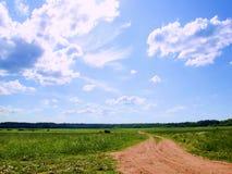 drogowy niebo Zdjęcie Royalty Free