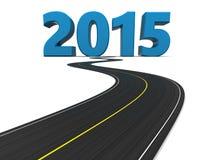 drogowy nowego roku Fotografia Stock