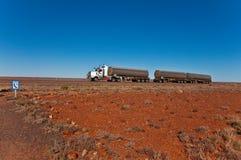 drogowy pociąg Zdjęcie Royalty Free