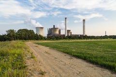 Drogowy Prowadzić elektrownia Zdjęcie Stock