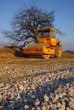 drogowy rolownik Fotografia Stock