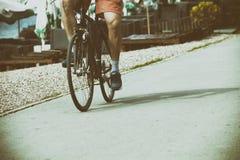 Drogowy roweru jeździec Zdjęcia Stock