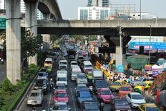 Drogowy ruch drogowy Zdjęcia Stock