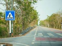 Drogowy skrzyżowanie znaka, bezpieczeństwo fotografia royalty free