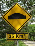 Drogowy stropnica znak Zdjęcie Stock