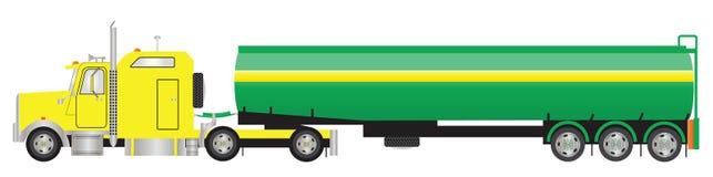 drogowy tankowiec Fotografia Royalty Free