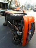 Drogowy wypadek uliczny Zdjęcie Royalty Free