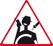 drogowy znak royalty ilustracja
