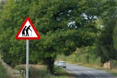 drogowy znak zdjęcie royalty free