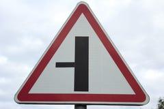 - drogowy znak. Fotografia Royalty Free