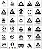 Drogowy znak, Fotografia Royalty Free