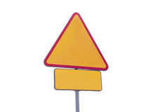 drogowy znak Zdjęcia Stock