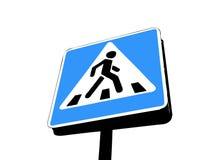 drogowy znak Obrazy Royalty Free