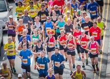 Drogowych biegaczów biegać Fotografia Stock