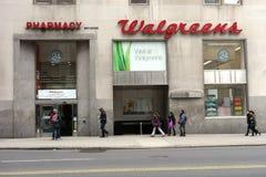 Droguería de Walgreens Imagen de archivo