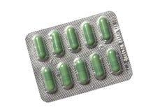 Drogues dans l'emballage transparent Photos libres de droits