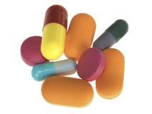Drogues de médecine Photographie stock libre de droits