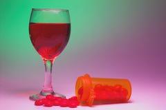 Drogues et alcool Image libre de droits