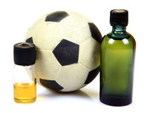 Drogues et sports Photos libres de droits