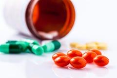 Drogues pour le traitement Image stock