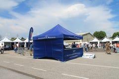 Drohnen-Ausstellung u. Show Urbe 2015 Lizenzfreie Stockfotos