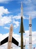 Drohnen, Flugkörper und Raketen Lizenzfreie Stockfotos