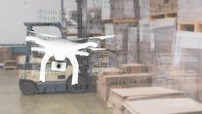 Drohnenfliegen an einem Lager