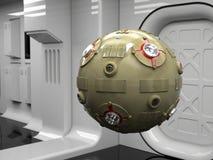 Droid della sonda spaziale Immagini Stock Libere da Diritti