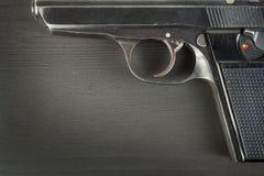 Droit de porter des bras Contrôle de l'armement Détail sur l'arme à feu Endroit pour votre texte Ventes des armes à feu Photographie stock
