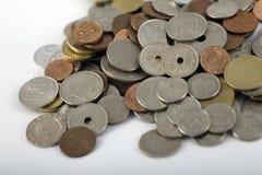 Droite mélangée d'argent Photographie stock libre de droits