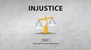 Droites de jugement de loi pesant le concept juridique photographie stock libre de droits