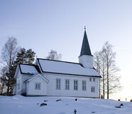 Drolsum Kirche Stockfotos