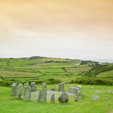 Drombeg Stone Circle Royalty Free Stock Images