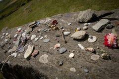 Drombeg Stone Circle Archaeological Site, Ireland. stock image
