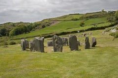 Drombeg Stone Circle Archaeological Site, Ireland. royalty free stock image