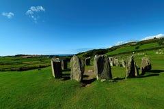 Drombeg Stone Circle, County Cork, Ireland Royalty Free Stock Photography