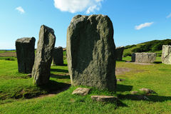 Drombeg Stone Circle, County Cork, Ireland Stock Image