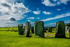 Drombeg Stone Circle in Ireland Stock Images