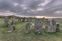 Drombeg Stone Circle Royalty Free Stock Photo