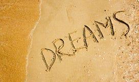Dromen stock afbeelding