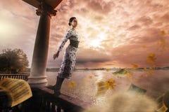 Dromen van de herfst Stock Afbeeldingen