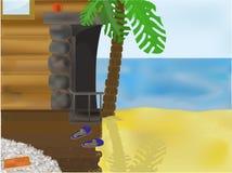 Dromen van de zomer. Royalty-vrije Stock Afbeelding