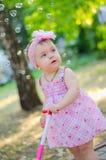 Dromend babymeisje Stock Fotografie