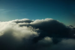 Dromerige cloudscape royalty-vrije stock afbeeldingen