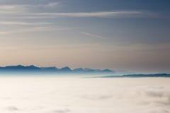 Dromerige horizon Stock Afbeelding
