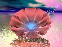 Dromerige Wateren 11 royalty-vrije illustratie