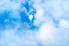 Dromerige Wolkenachtergrond Stock Foto's