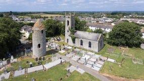 Dromiskin round wierza okręg administracyjny Louth Irlandia fotografia stock