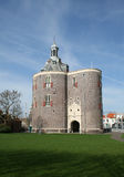Drommedaris. City entrance of Enkhuizen from the sixteenth century. Drommedaris royalty free stock image